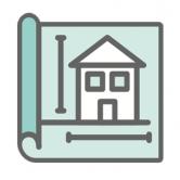 decorative house map